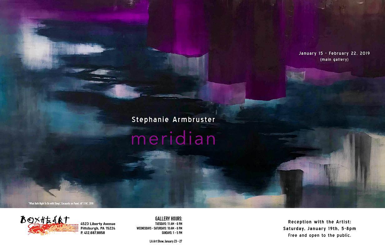 Stephanie Armbruster: Meridian