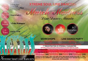 MARCH MADNESS Soul Line Dance MANIA 2014