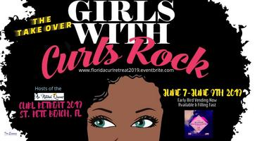 Girl's with Curls Rock Takes Over Au'Natural Queens Florida Curl Retreat 2019