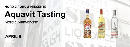 Aquavit Tasting & Nordic Networking Event