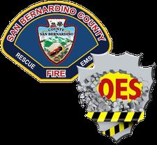 SBCo. Fire, OES Volunteer Training logo