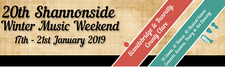 Shannonside Winter Music Weekend In Association with Sixmilebridge Folk Club  logo