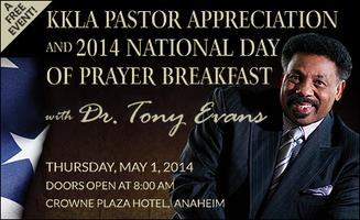 KKLA Pastor Appreciation and National Day of Prayer Bre...