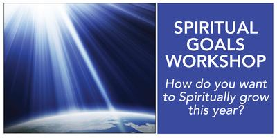 Spiritual Goals Workshop