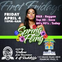 First Fridays Spring Fling April 4th 2014