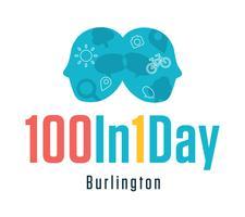 100in1Day Burlington logo