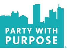 PARTY WITH PURPOSE logo