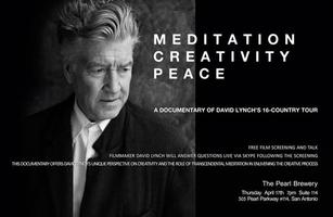 "David Lynch  Screening ""Meditation, Creativity and..."