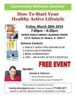 "Free Community Wellness Seminar  ""How to start your..."