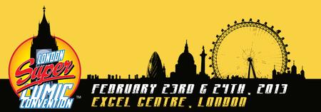 London Super Comic Convention 2012
