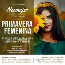 Neomujer organiza eventos holisticos para las mujeres modernas en Miami logo