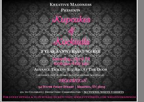 Kupcakes & Kocktails- Kreative Maddness 2 Year...
