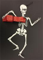 Bindery Workshop - Skeleton with Box Chest and Mini Book