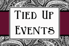 Tied Up Events logo