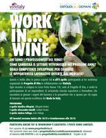 """Progetto di Vita e Vinitaly """"Work in...Wine"""" Cantine..."""