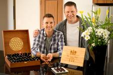John Croft and Noel Blanchard from Shantistar  logo