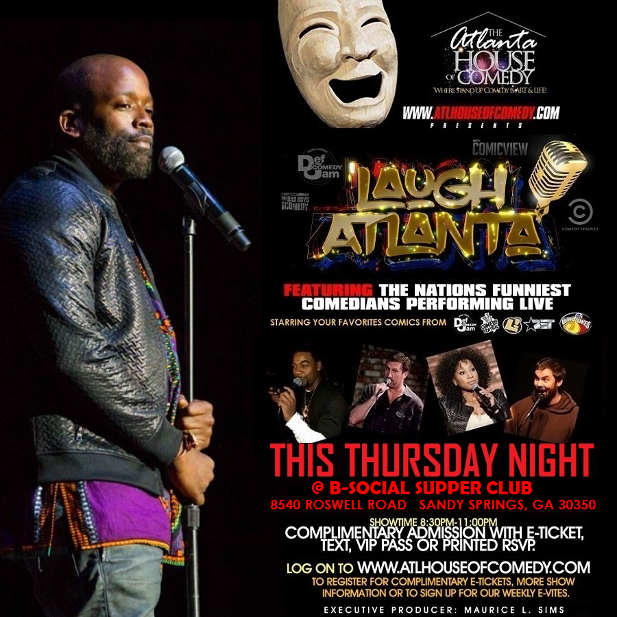 Laugh Atlanta presents Thursday Night Comedy