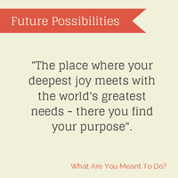 Future Possibilities - What Are You Meant To Do?