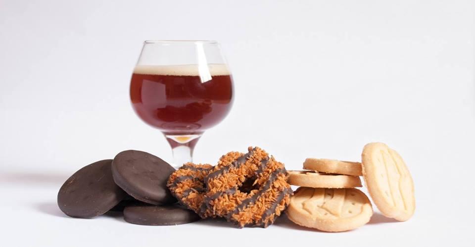Girl Scout Cookie & Beer Pairing!