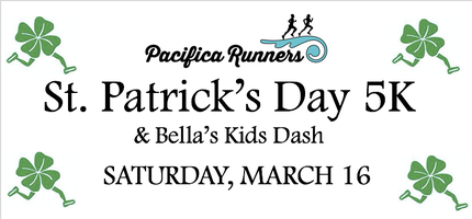 St. Patrick's Day 5K, 7K, Bella's Kids Dash & BBQ