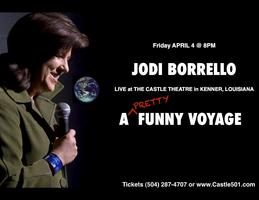 Jodi Borrello's A 'Pretty' Funny Voyage/ Sat. April 5