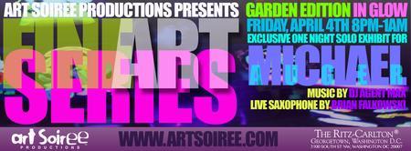 Art Soiree: Garden Edition in Glow - Exclusive Exhibit...