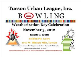 National Weatherization Day Celebration and Bowling Fun...