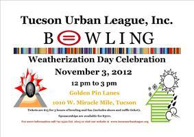 National Weatherization Day Celebration and Bowling Fun...