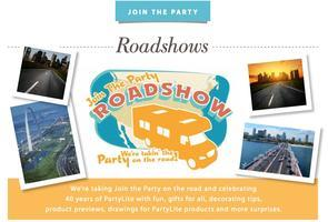 PartyLite Road Show & $1,000 Product Palooza Drawing!