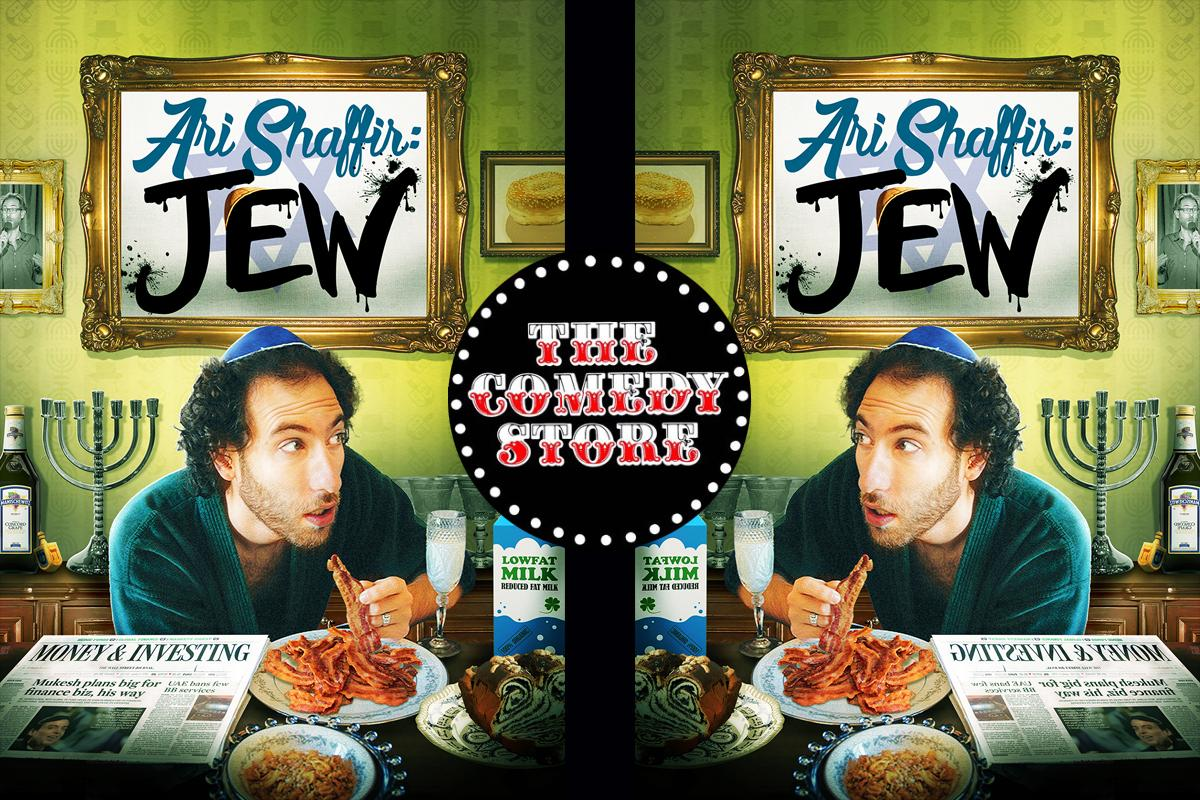Ari Shaffir - Sunday - 9:45pm