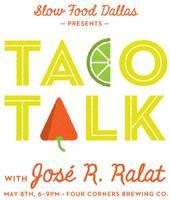 Taco Talk with José R. Ralat
