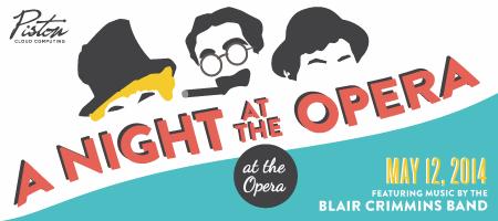 Piston Presents: A Night at the Opera, at the Opera