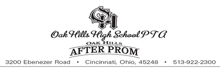 Spring Product Survey for Oak Hills High School After P...