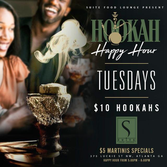 $10 Hookah Happy Hour