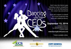 Dancing with the CEOs for Childhood Cancer