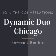 The Dynamic Duo logo