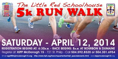 The Little Red Schoolhouse 5K Run/Walk