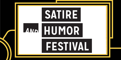 Satire and Humor Festival: Conversation + Diversity In...