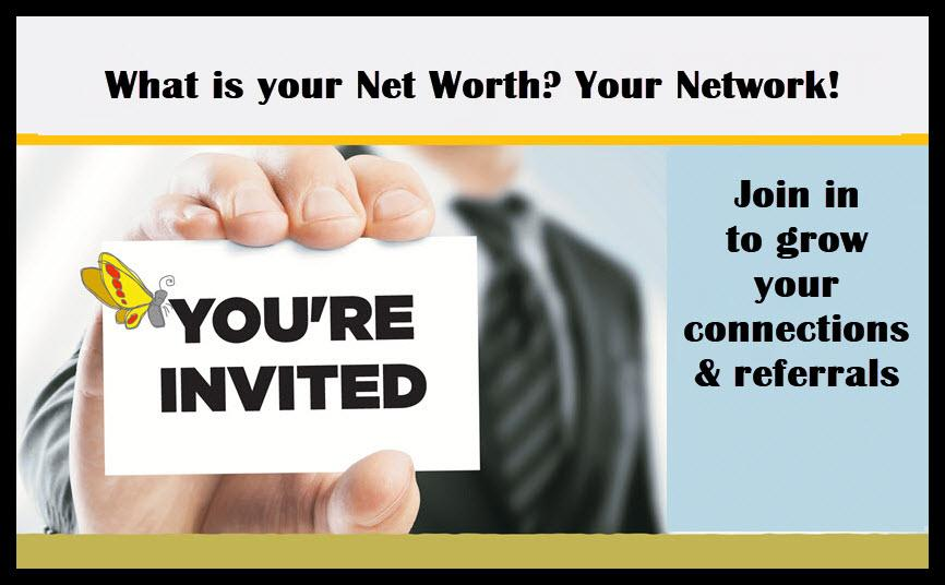 Business Networking Wednesday Doors open at 11 meeting starts at Olive Garden Countryside