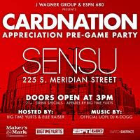 CARDNATION Appreciation Pre-Game Party (Indianapolis)