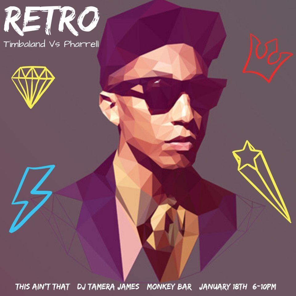 Retro Happy Hour: Featuring Pharrell vs. Timberland