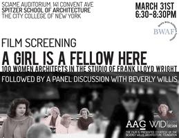 Film Screening  + Discussion | A Girl is a Fellow Here