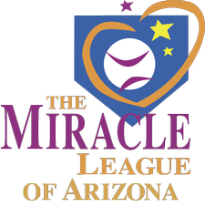 The Miracle League of Arizona logo