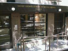 Henry George School of Social Science logo