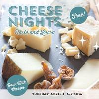 Cheese Nights – Taste & Learn