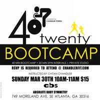 40twenty (BOOTCAMP + spin) powered by Chandler Fitness...