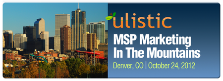 MSP Marketing in the Mountains