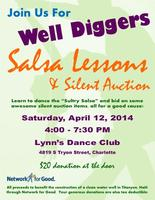 Well Diggers Salsa Lessons & Silent Auction Networking...