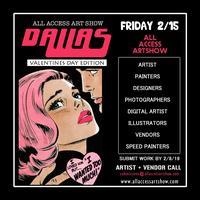 All Access Art Show Dallas Vendor Registration 2019