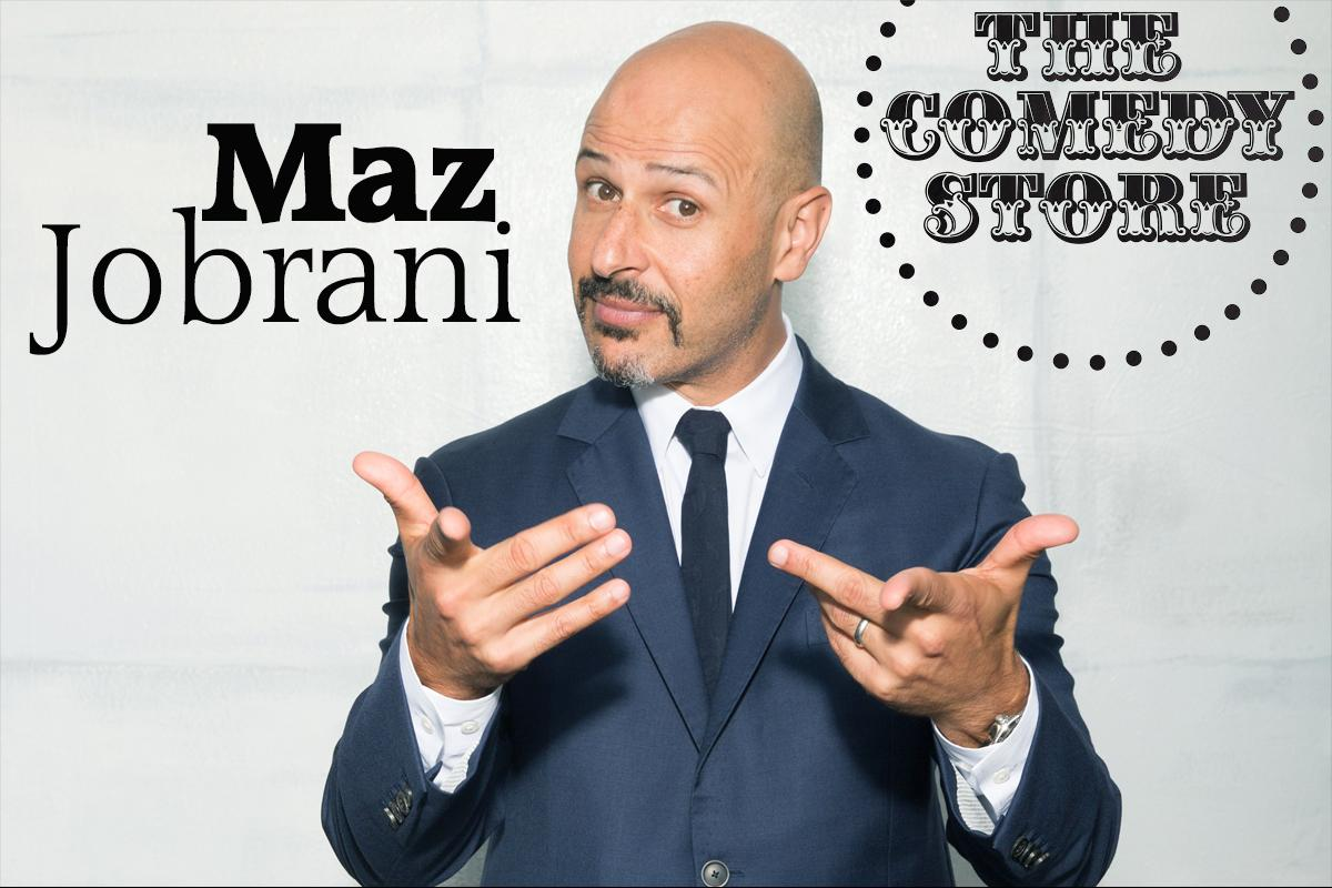 Maz Jobrani Friday 9:45pm